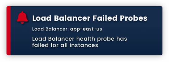 Load Balancer Failed Probes