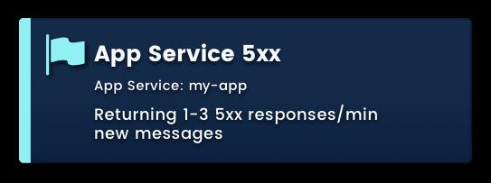 App Service 5xx Responses
