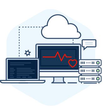 Real-time Server heartbeats