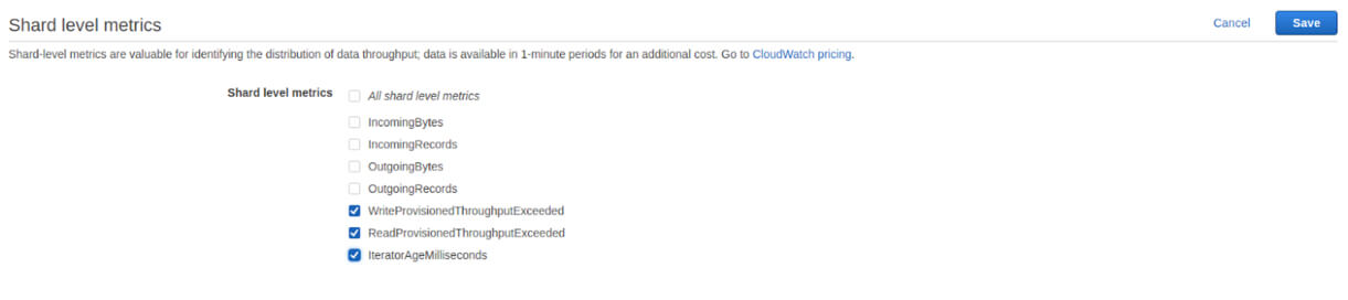 How to Monitor AWS Kinesis with CloudWatch