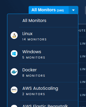 Filtering Monitors